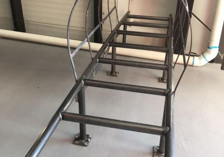 ¿Qué son las escaleras marinas?